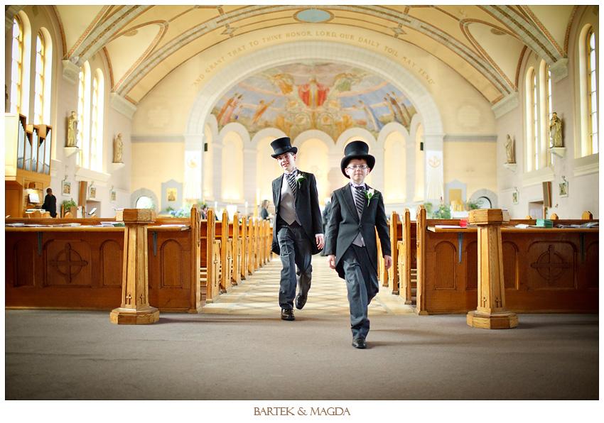 st willibrord parrish wedding montreal