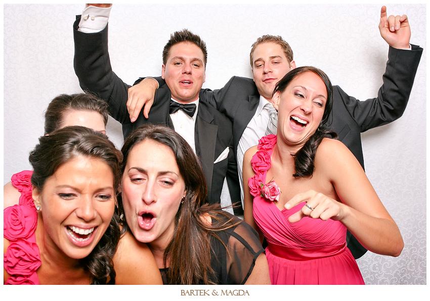 loft hotel montreal wedding reception photobooth