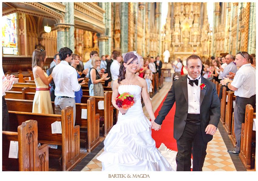notre dame cathedral basilica wedding ottawa