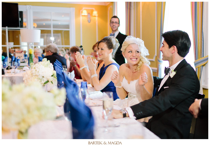 signatures wedding reception