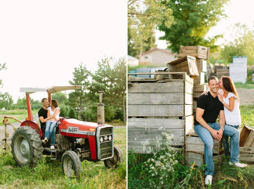 farm engagement photo