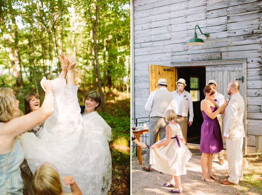 rustic wedding canada