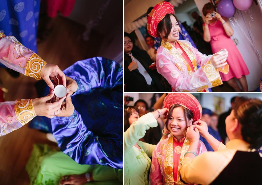 vietnamese tea ceremony wedding